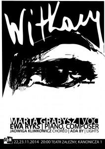 Plakat Ady Bystrzyckiej Muzyka w Poezji 2